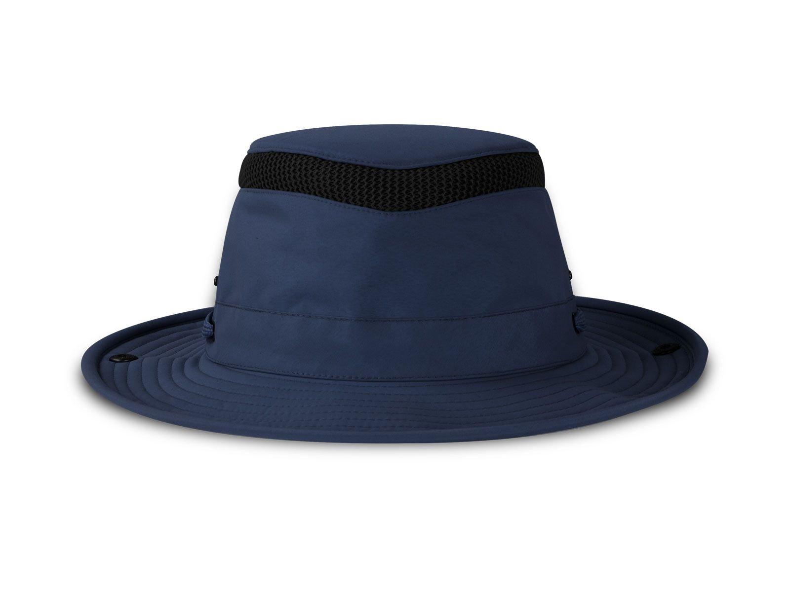 Tilley ENDURABLES Ltm3 Airflo Hat, Color: Navy, Size: 7 3/8 (10NM03HTLM30275)
