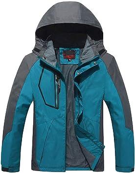 メンズジャケット、メンズ軽量防水ジャケット防風アウトドアキャンプハイキングマウンテンジャケット、フード付き