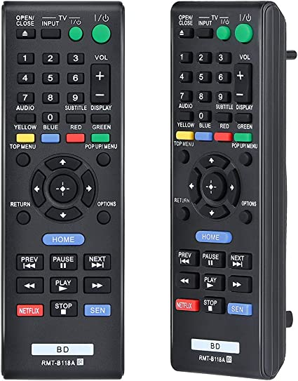 Replacement Remote Control for Sony BDP-S1100