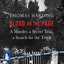 Blood on the Page Audiobook by Thomas Harding Narrated by Thomas Harding