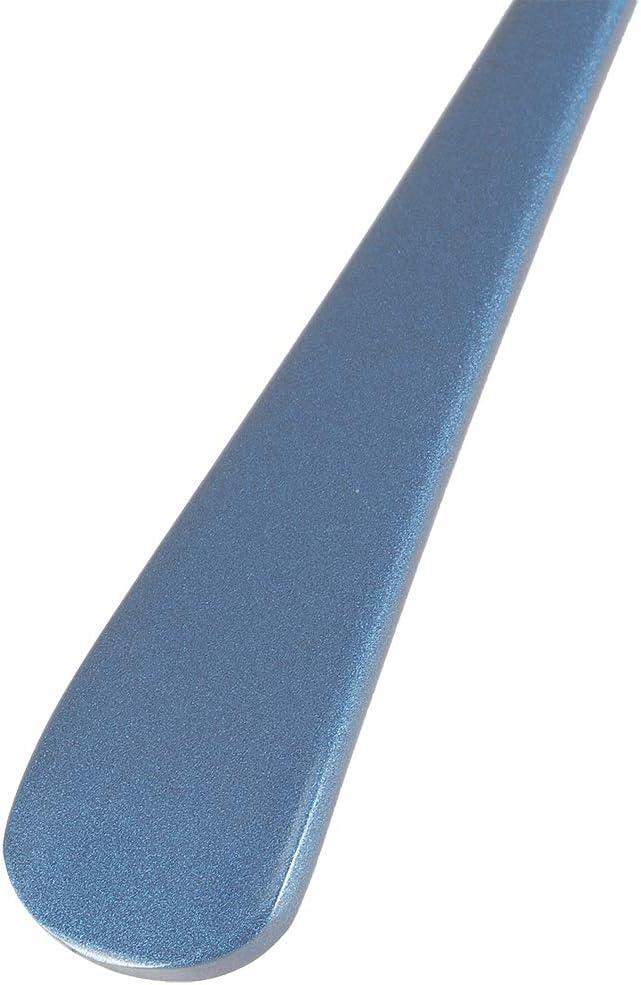Silver cucharaditas redondas de acero inoxidable Cucharas de caf/é peque/ñas de 6.3 x 1.7 pulgadas Cucharas de sopa de 5 piezas