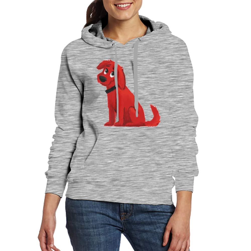 Clifford The Big Red Dog Pullover Hoodie Hooded Sweatshirt S-XXL