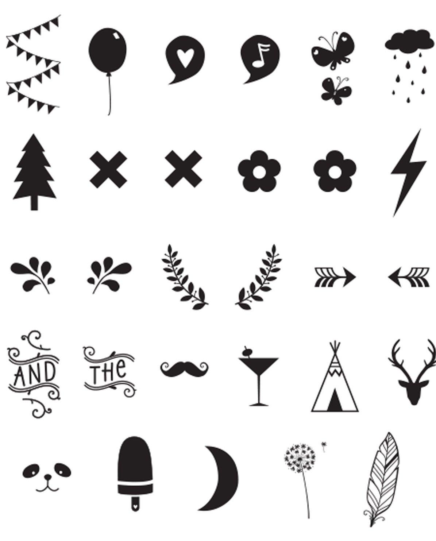 A Little Lovely Company Zahlen & Symbole - für alle Leuchtkästen ...