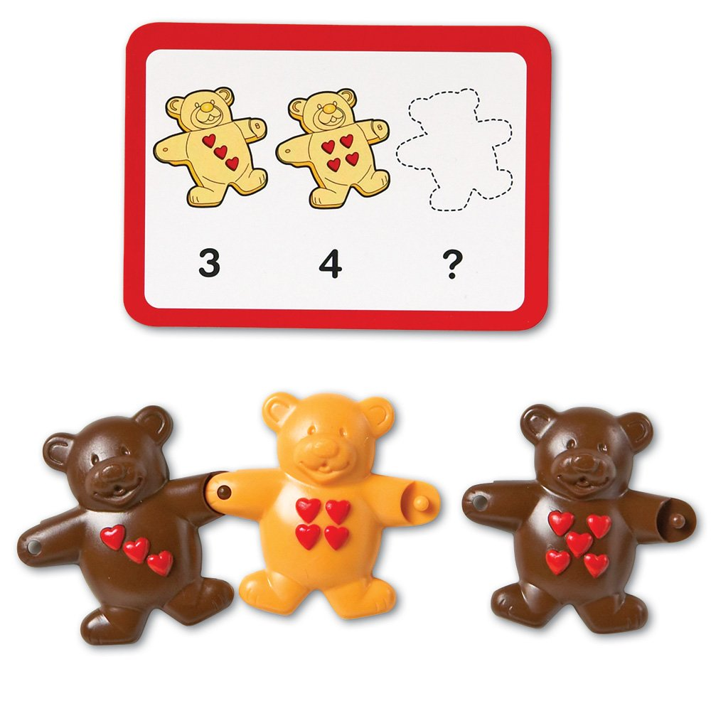 Counting Bears Pattern Cards Teaching Resources | Teachers Pay ...