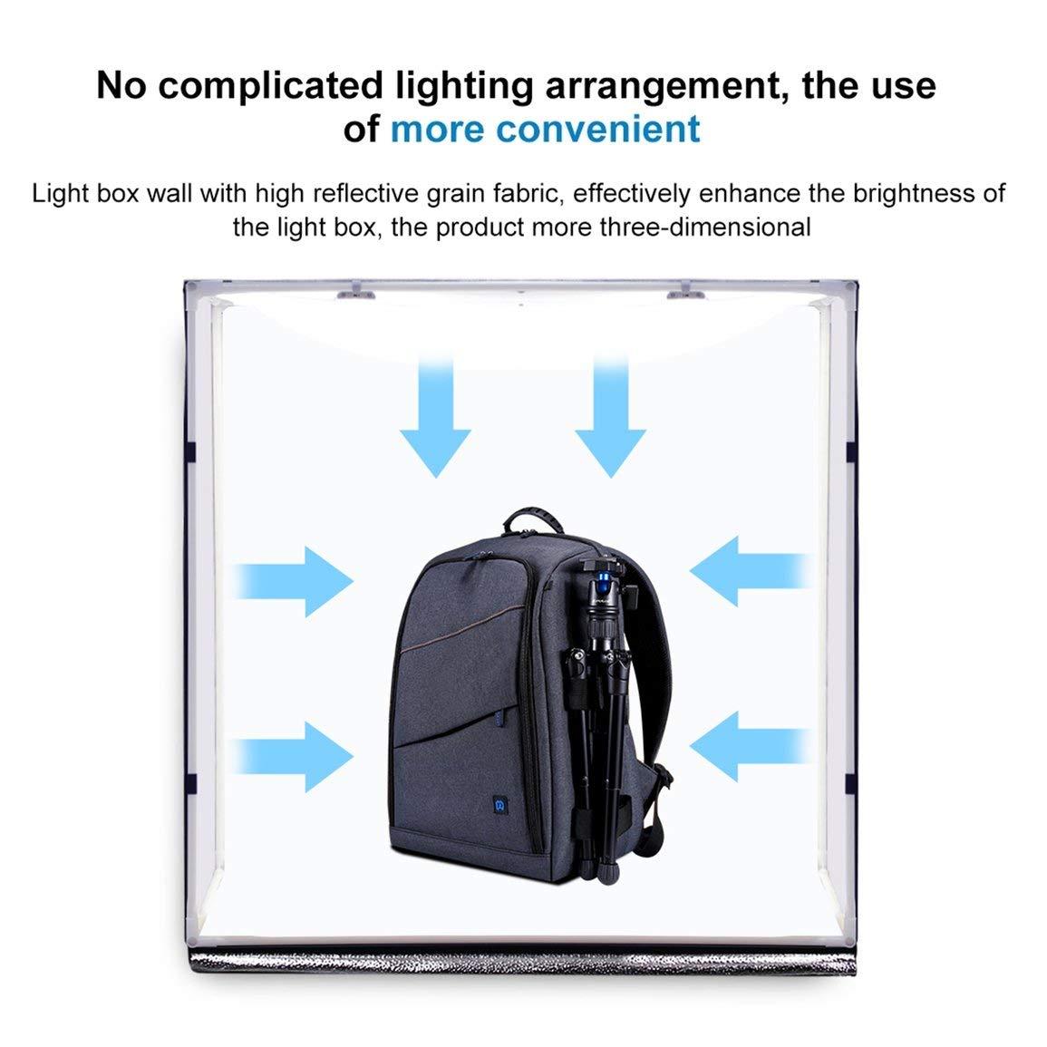 PULUZ 80cm Photographie Lightbox Photo éclairage Studio de Prise de