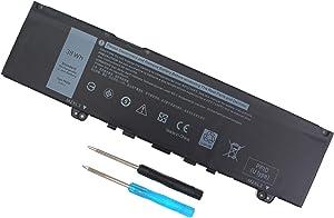 F62G0 Battery for Dell Inspiron 13 7373 I7373 7370 7380 5370 7386 P83G P83G001 P83G002 P87G P87G001 Vostro 13 5370 D1525S R1605S Series F62GO RPJC3 0RPJC3 39DY5 039DY5 38WH 11.4V