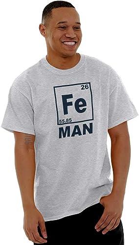 1Tee Kids Girls FE Iron Element Science Hero T-Shirt