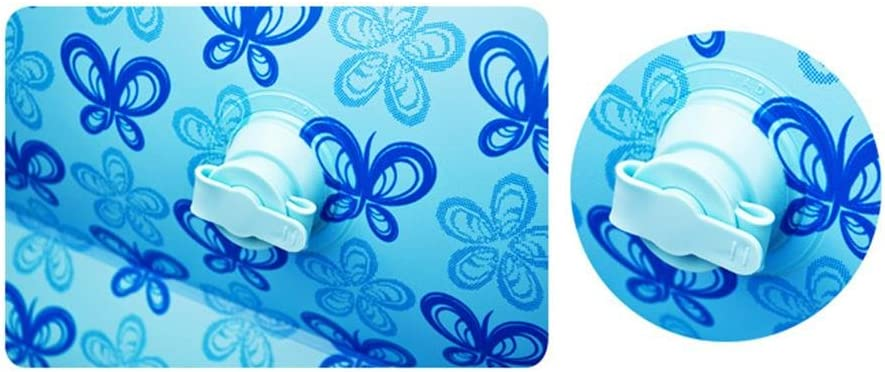 AJZGF Kind-aufblasbarer Bad-aufblasbarer Swimmingpool Verdicken Isolierungs-Baby-Swimmingpool-Bad-Plastik Falten-Wannen-Ozean-Ball-Pool-schaufelnde Pool-Wasser-Spielplatz-Fu/ß-Pumpe Badewanne
