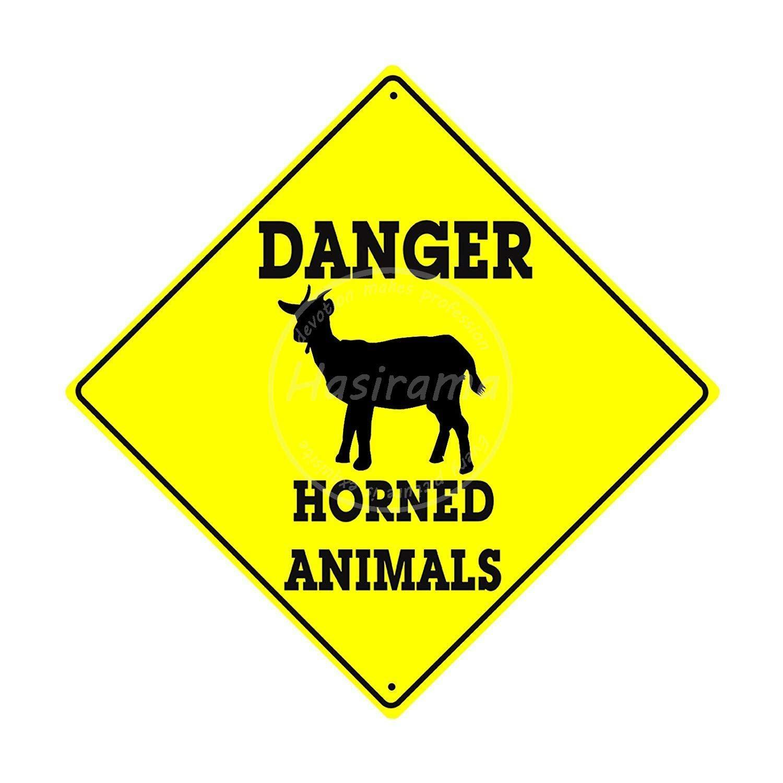 Taco Thursday Danger Horned Animals Pintura de Hierro Cartel ...