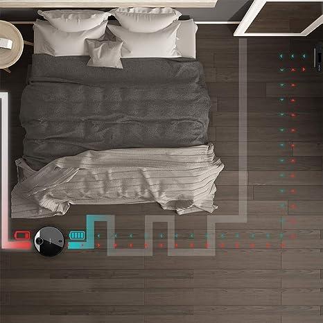 Cecotec Robot Aspirador Conga Serie 3290 Titanium. 2300 Pa, Gestión y Edición de Habitaciones, App con hasta 5 mapas, Aspira, Barre, Friega y Pasa la Mopa, Alexa y Google Home: Amazon.es: Hogar