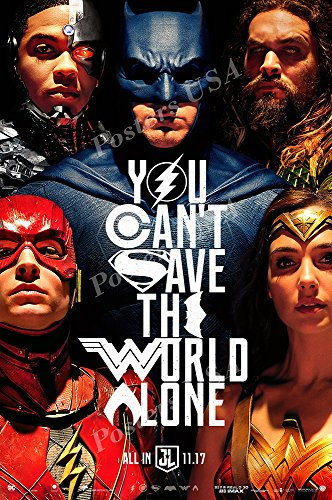Posters USA - DC Justice League Movie Poster GLOSSY FINISH - FIL612 (24