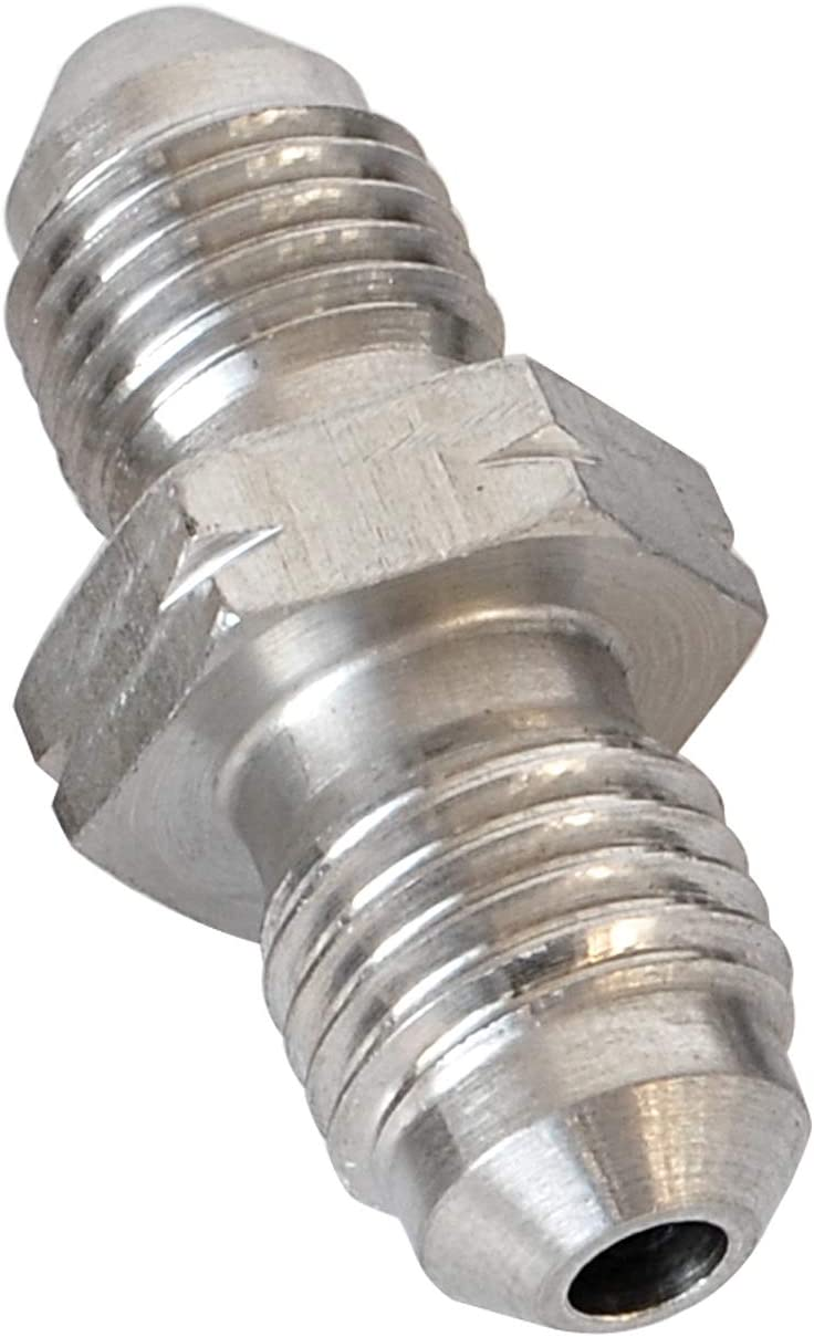 Stainless Steel Metric 3 AN Male Flare to AN3 Male Union Brake Hose Fitting Connector