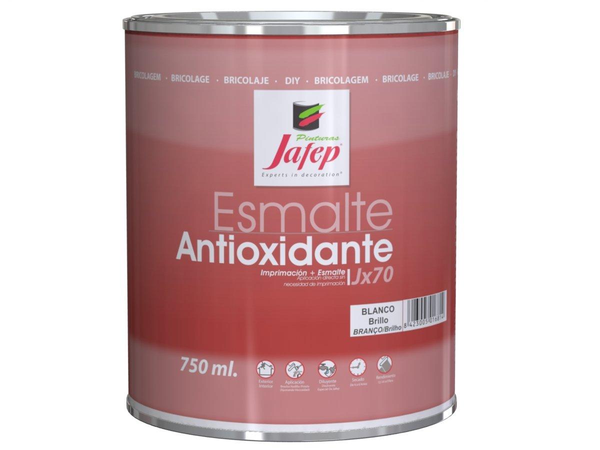 Jafep JX 70 - Esmalte antioxidante (750 ml) color blanco Pinturas Jafep 37500131