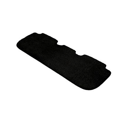 Nylon Carpet Coverking Custom Fit Rear Floor Mats for Select GMC Yukon Denali Models Black