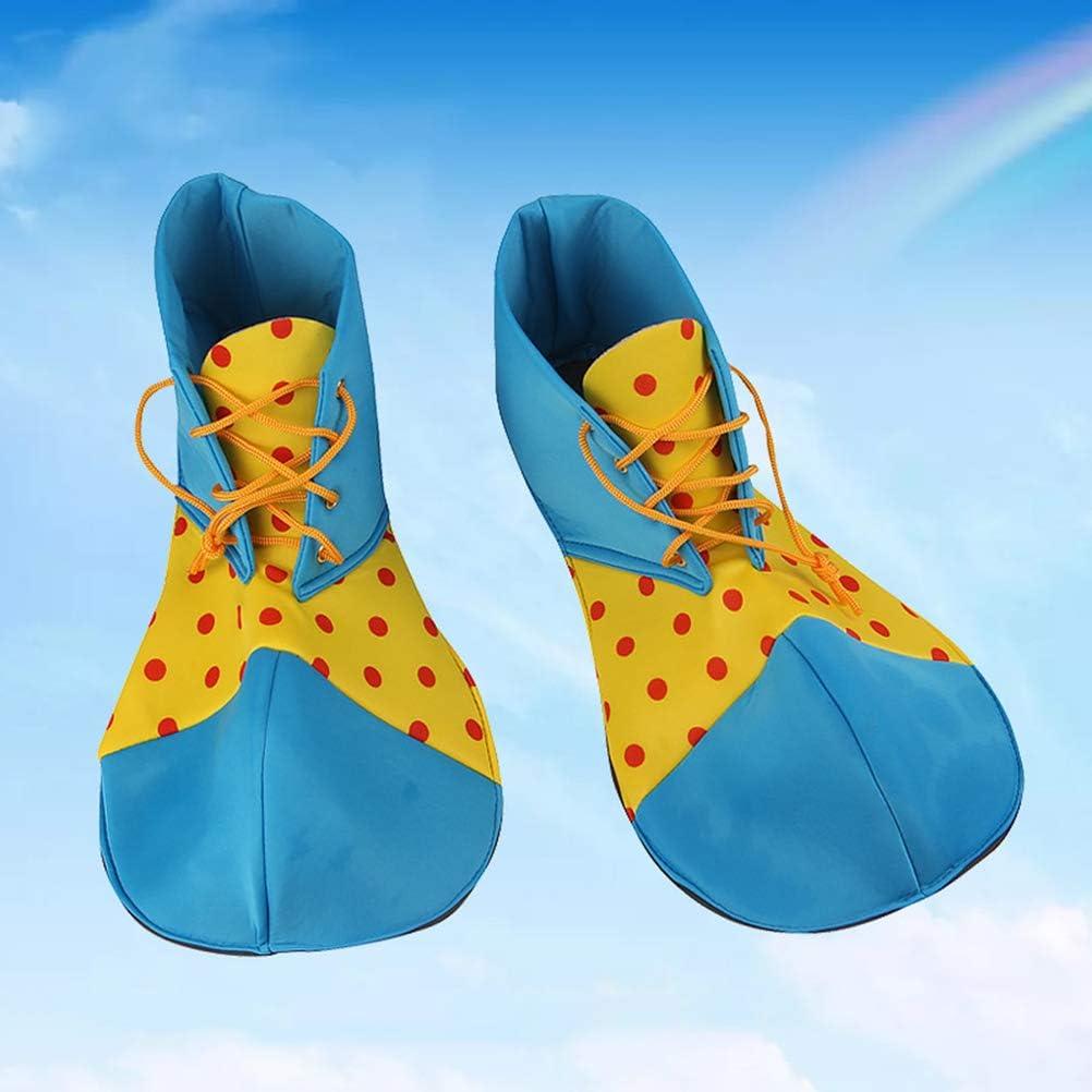 Amosfun Un par de Zapatos de Payaso,de tamaño Medio,Zapatos ...