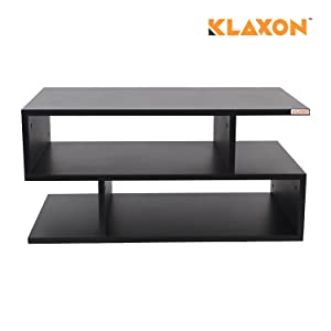 Klaxon Coffee Table (Matte Finish, Black)