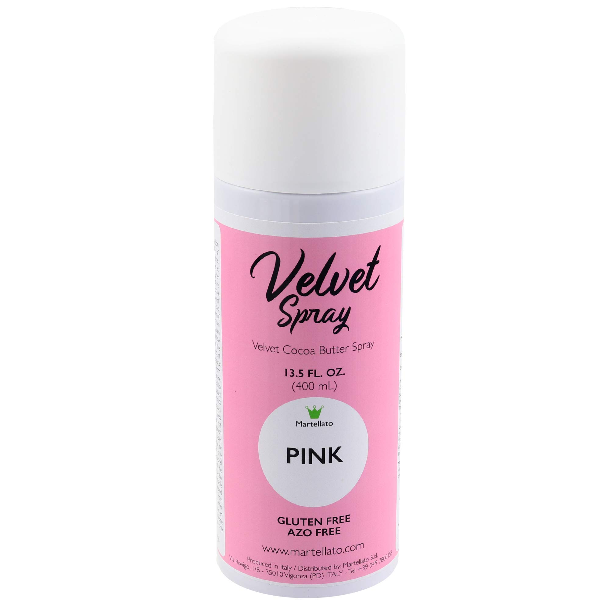 Martellato Pink Velvet Spray 13.5 Ounce (400ml)