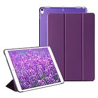 RKINC iPad Mini 4 Smart Case Cover [Cuero Sintético] Soft Back Funda Magnética con Función de Apagado/Función de Encendido [Ultra Slim] [Ligero] para iPad Mini 4 (Purpura)