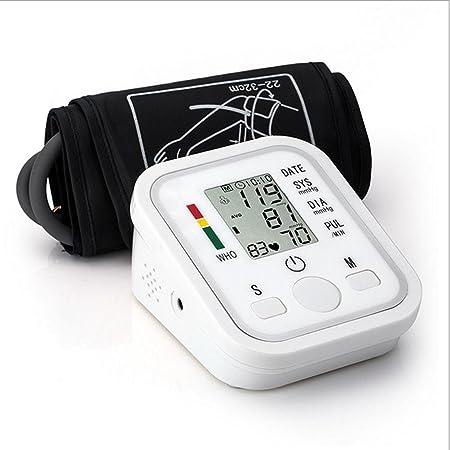 HRRH sphygmo Manómetro electrónico automático Arm Metros Pulse muñeca presión Arterial Monitor electrónica Inteligente Voice presión Arterial Monitor ...