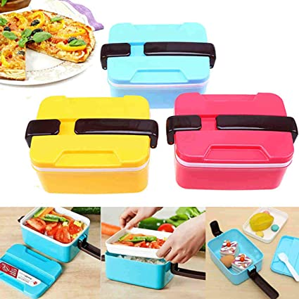 753a0822f8af Amazon.com: 1 piece JX-LCLYL New Picnic Food Container Storage Box ...