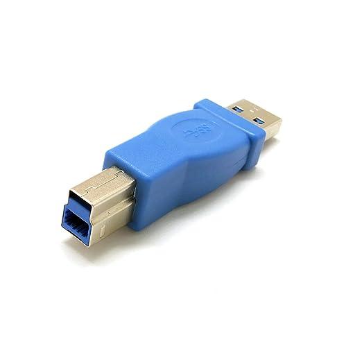 2 opinioni per Sienoc USB 3.0 A-maschio a B-maschio Computer Cavo adattatore del connettore