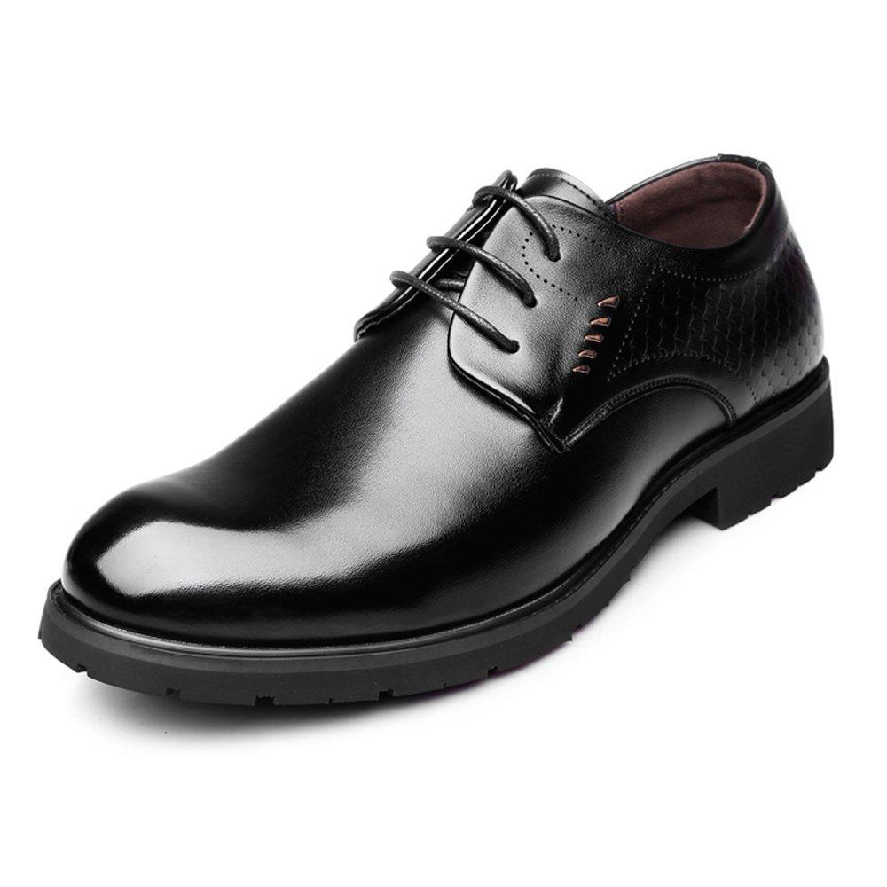 SCSY-Oxford-Schuhe Echtes Leder Business Business Business Oxfords Lace Up Fisch Maßstab Decor Formale Schuhe  25f0e2