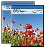 MCS 22x28 Inch Original Poster Frame (2pk), Black, (65667)