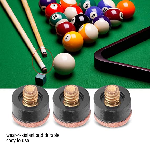 Taco Palo Billar, Punta de Billar de Snooker Pool,10Pcs Punteras ...