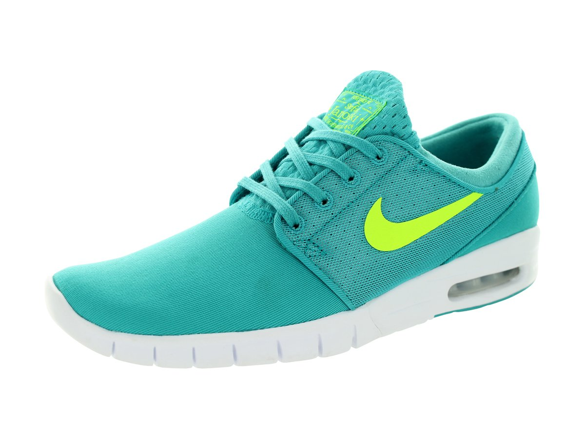 NIKE Men's Stefan Janoski Max Running Shoe 9.5 D(M) US|Dusty Cactus / Volt-white