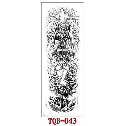 Etiquetas engomadas del tatuaje del brazo de la flor tatuaje ...