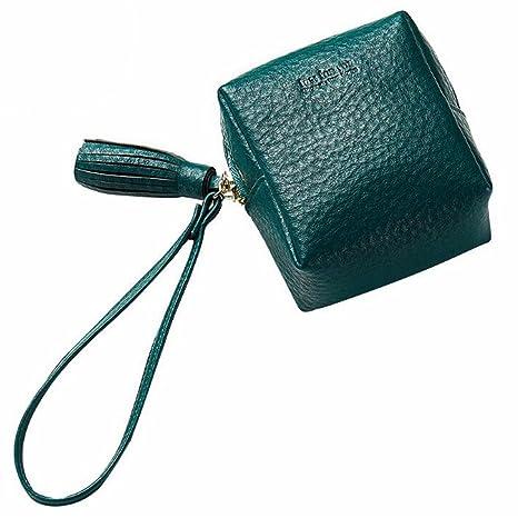 FELICIPP Mini Monedero de Cuero de la Billetera del Bolsillo ...