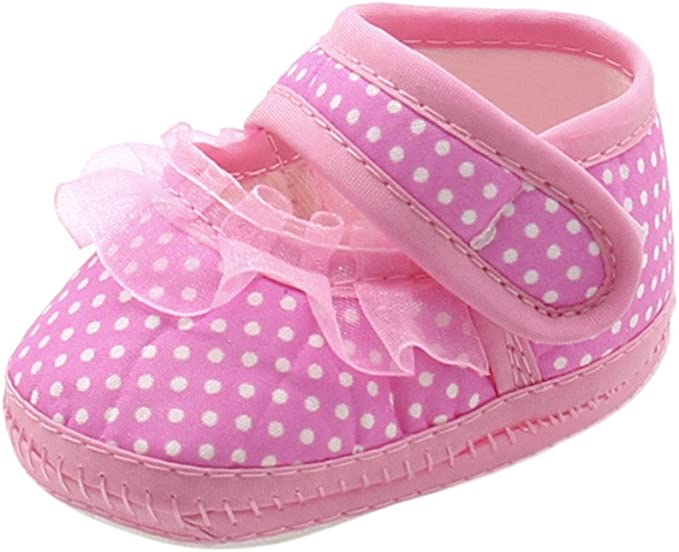 Newborn Infant Baby Star Girls Boys Soft-Sole Prewalker Warm Casual Flats Shoes