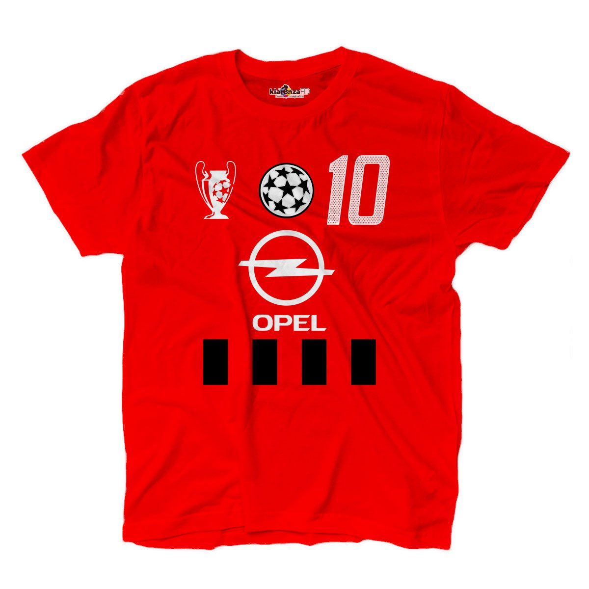 KiarenzaFD Camiseta Camiseta Fútbol Vintage Rui Milan Costa 10 ...
