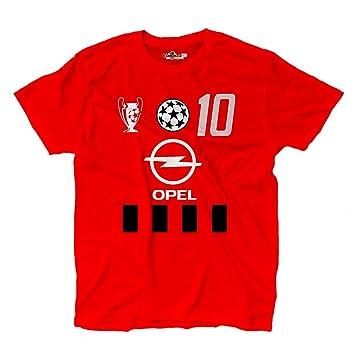 KiarenzaFD Camiseta Camiseta Fútbol Vintage Rui Milan Costa 10 Temporada 02 - 03 Champion Hombre: Amazon.es: Deportes y aire libre