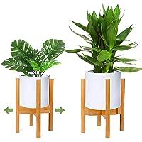 RIOGOO Soporte para plantas, soporte de plantas expandible