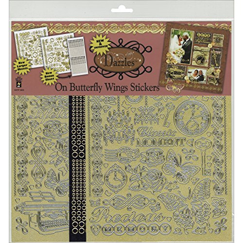HOTP Scrapbooking Dazzles On Butterfly Wings 2823