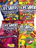 Lifesavers Gummies, Collisions, Wild Berries, Original & Exotics 7oz, 4 Bags