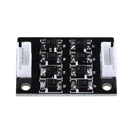 Biqu Tl-smoother kit Addon module pour Motif /élimination des filtre moteur Montage photo imprimante 3d Moteur pilotes contr/ôleur