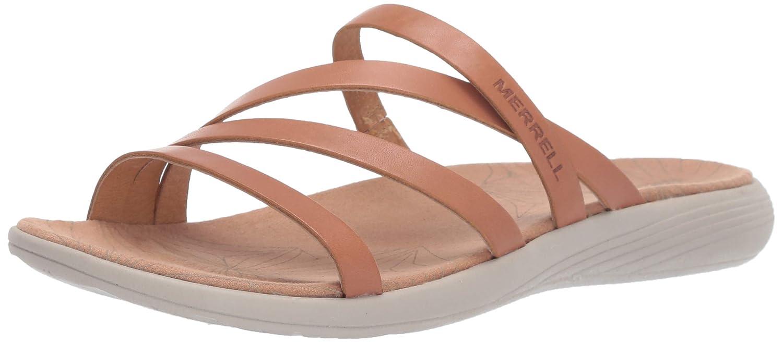 Merrell Women's Duskair Seaway Slide Leather Sandal