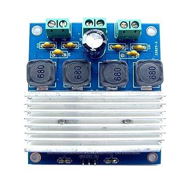 Busirde 50W x 2 Tablero del Amplificador Digital TDA7492 Amplificador de Potencia Módulo conectar en Paralelo