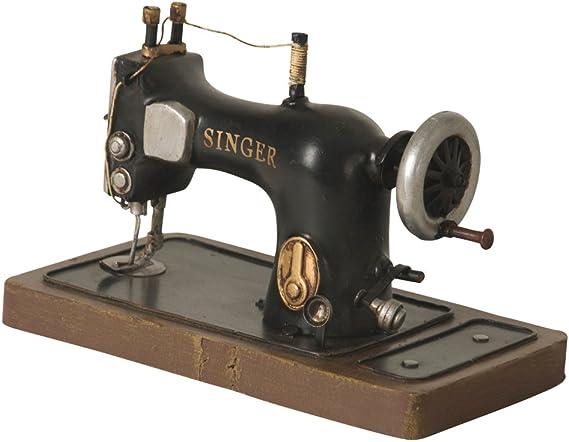 Wilco Imports Réplica Antigua de una máquina de Coser Singer, Metal, 6-1/2-Inch by 3-1/2-Inch by 4-1/4-Inch: Amazon.es: Hogar