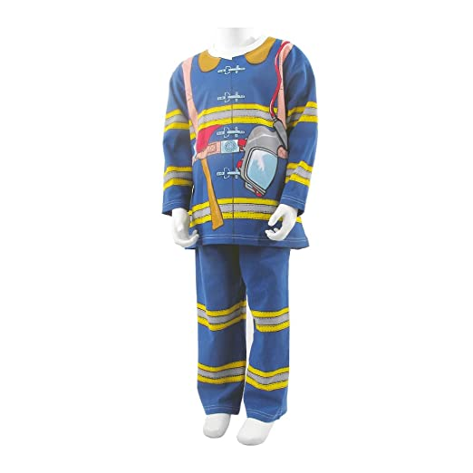 Firefighter Costume/pjs (Age 7-8)