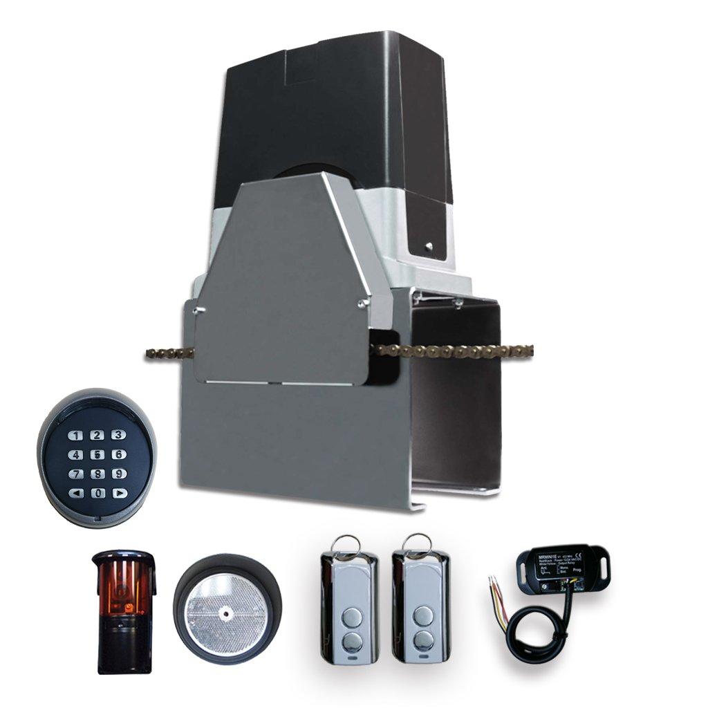 Beninca Bull 1024C Slide Gate Operator, Receiver, Transmitter, Photocell, Keypad