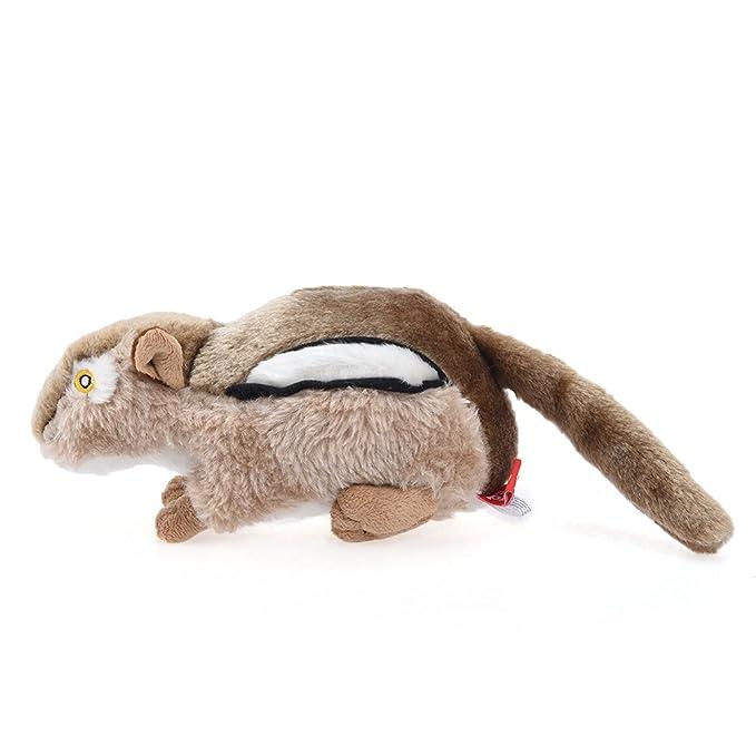 Petacc 2Pcs Juguetes de Perros/Gatos Juguetes Mascota Juguetes de Peluche para Perros/Gatos en Forma de Ardilla y Ratón: Amazon.es: Productos para mascotas