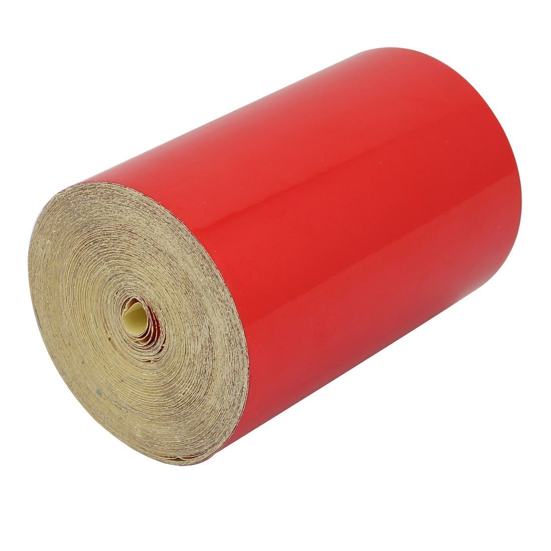 Fash Lady 15M Length 10cm Width Single Sided Adhesive Reflective Warning Tape Red