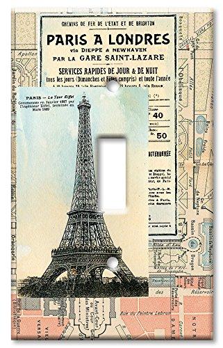 Art Plates - Paris Switch Plate - Single Toggle