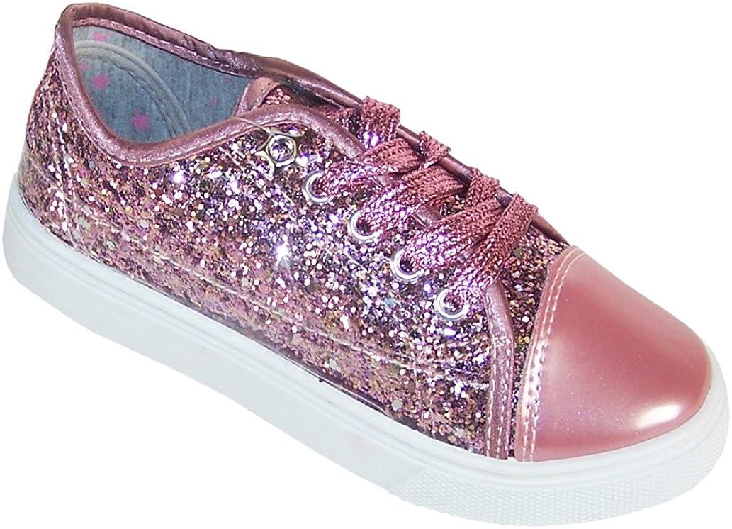 Girls Children Kids Pink Glitter