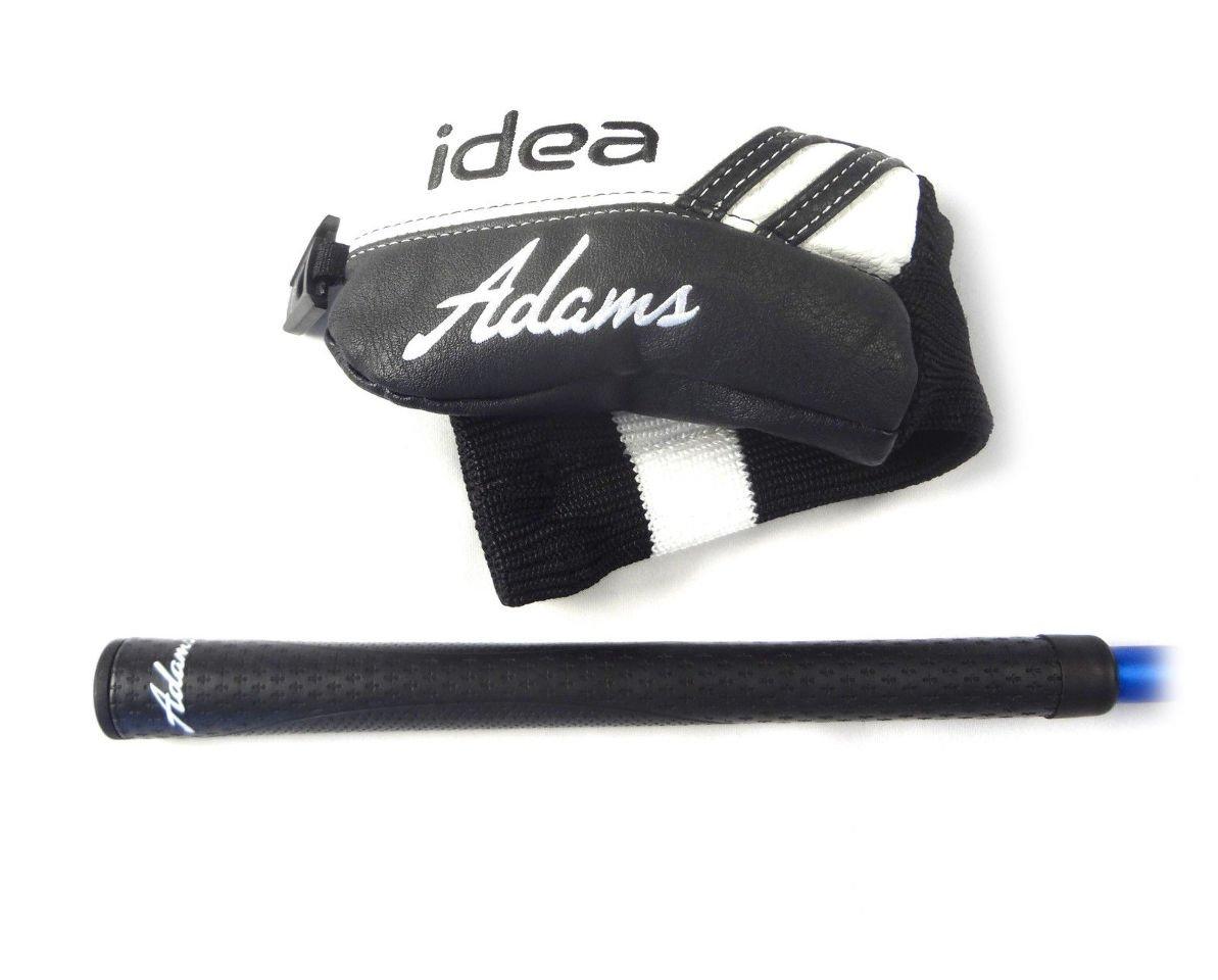 Adams Golf Men's New Idea Hybrid Club, Right Hand, Graphite, Senior Flex, 22-Degree, #4