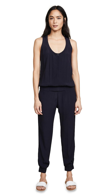 Monrow Women's Crepe Basics Jumpsuit