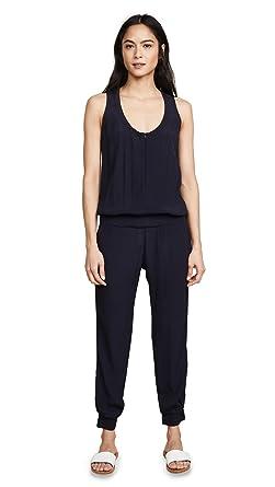 e80d0467420 Amazon.com  Monrow Women s Crepe Basics Jumpsuit  Clothing